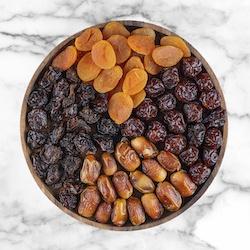 Frutas deshidratadas y dátiles